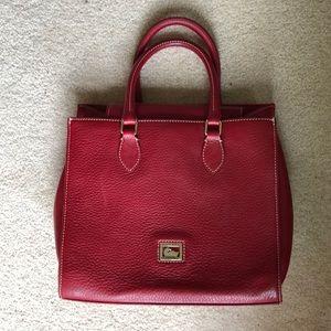 Dooney & Bourke Red Janine Handbag